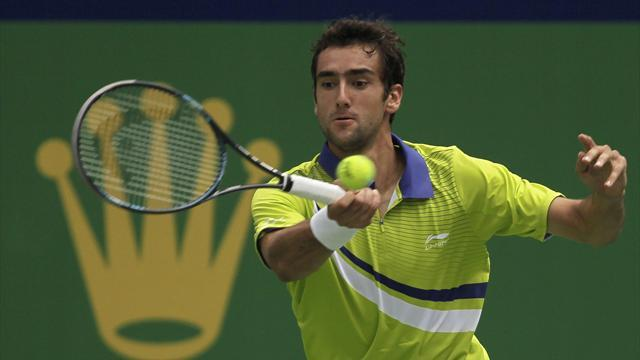 Tennis - Cilic wins first match since returning from doping ban