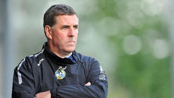 Mark McGhee's Bristol Rovers have slipped into the npower League Two relegation zone