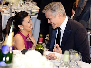 George Clooney Pursued Eva Longoria Before Stacy Keibler Breakup