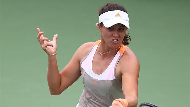 Tennis - Robson loses to player more than double her age