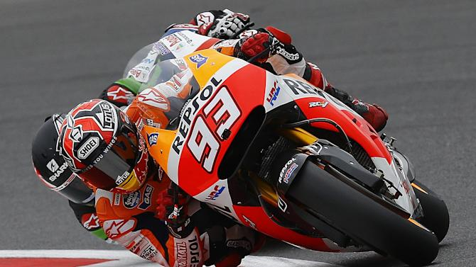 Motorcycling - Marquez explains Misano crash