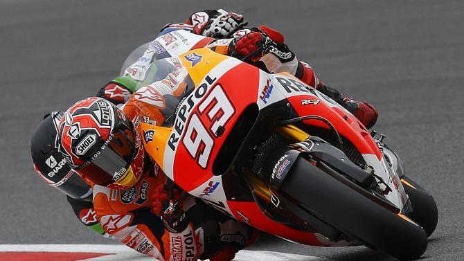 Motorcycling - Marquez explains Misano crash