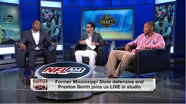 MIssissippi State defensive end Preston Smith joins NFL AM