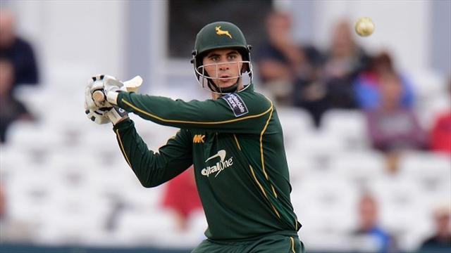County - Hales leads Notts to victory