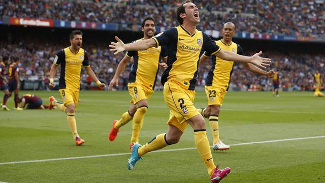 Liga - Atletico stun Barcelona to claim Spanish title