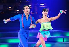 Apolo Anton Ohno and Karina Smirnoff | Photo Credits: Adam Taylor/ABC