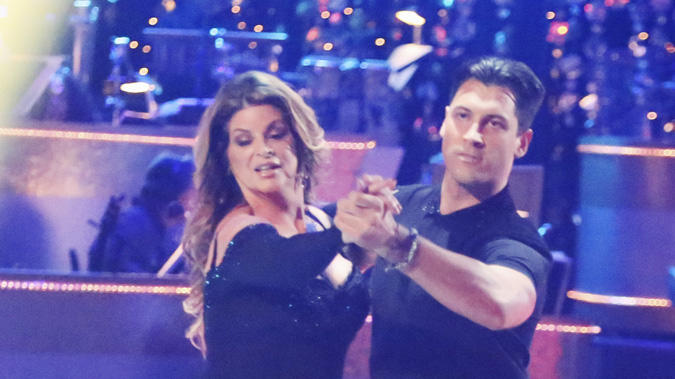 Kirstie Alley and Maksim Chmerkovskiy (10/22/12)