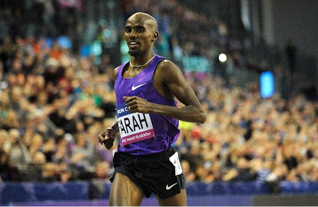 Mo Farah, in action on February 20, 2016, said he is trying to focus on getting ready for the Olympics and not worry about health problems that might arise