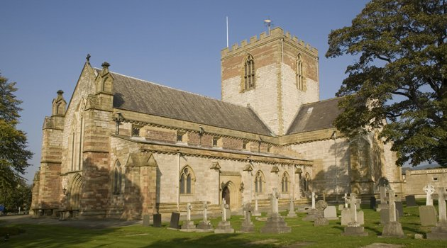 Pictured is St Asaph cathedral. The tiny Welsh town with a population of 3500 has been given city status. Photo credit: Rex