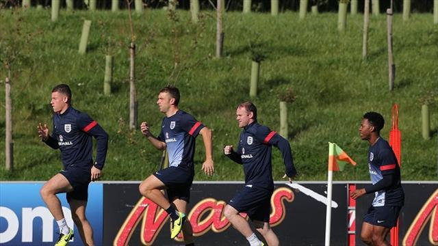 Football - Gerrard excited by England strikers