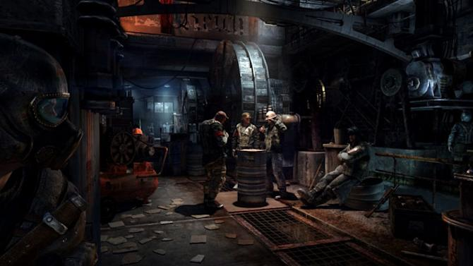 "This video game image released by Deep Silver shows a scene from ""Metro: Last Light"" (AP Photo/Deep Silver)"