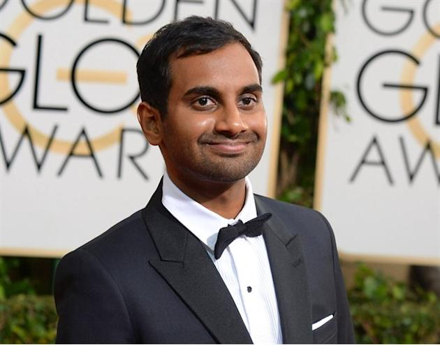 "FILE - In this Jan. 12, 2014 file photo, actor-comedian Aziz Ansari arrives at the 71st annual Golden Globe Awards in Beverly Hills, Calif. Ansari is getting his own Netflix series titled ""Master"