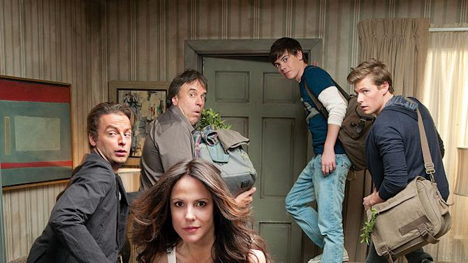 """The cast of """"Weeds."""""""