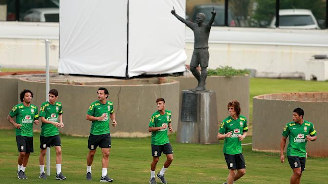 Brazil Training - FIFA Confederations Cup Brazil 2013