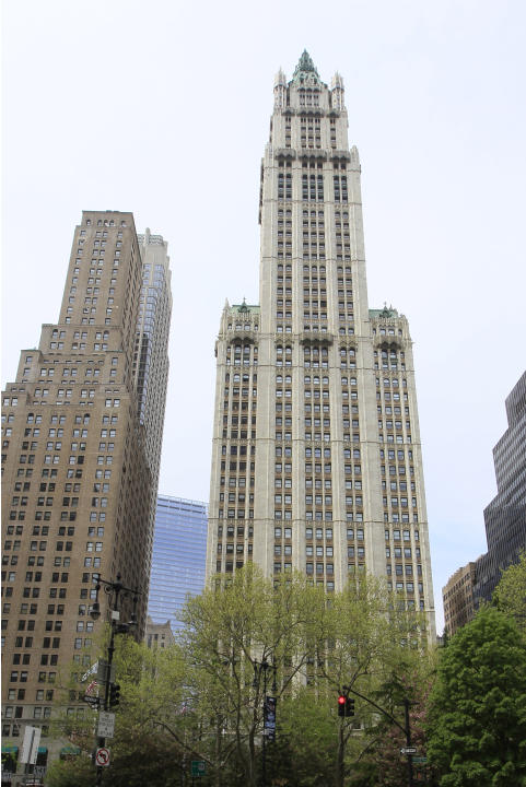 The Trump Building, 70 piani, 283 metri