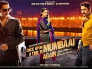 Is ONCE UPON A TIME IN MUMBAI DOBARA too glossy and glitzy?