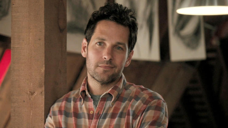 "This film image released by Focus Features shows Paul Rudd in a scene from ""Admission."" (AP Photo/Focus Features)"