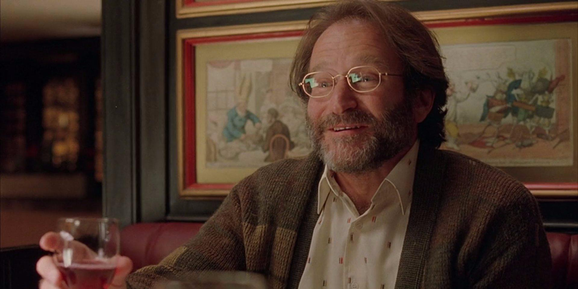 Robin Williams spent most of 'Good Will Hunting' reading his lines in different celebrities' voices