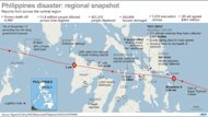 Updated regional snapshot of the aftermath of Typhoon Haiyan in the Philippines