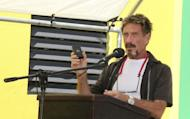 John McAfee Is Blogging on the Lam
