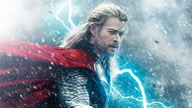 Chris Hemsworth in 'Thor: The Dark World'