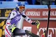 Austria's Marlies Schild competes in a World Cup slalom race in Bormio, Italy, on January 5, 2014