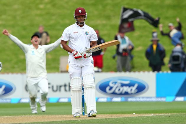 New Zealand v West Indies - Second Test: Day 3
