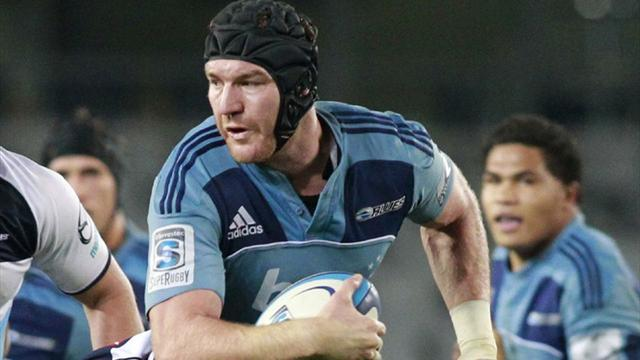 Super 15 - Williams named Blues captain in Mealamu's absence