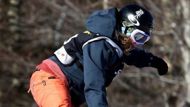Snowboard - Jones ends long wait for Olympic recognition
