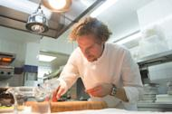 Arnaud Donckele, the head chef at La Vague d'Or in Saint-Tropez, will serve snails from the region on his spring menu