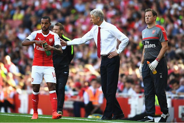 Walcott: I told Wenger his team talk reminded me of Al Pacino!