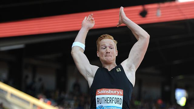 Athletics - Rutherford's record stands despite protests
