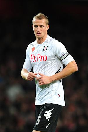 Brede Hangeland's Fulham contract expires in the summer