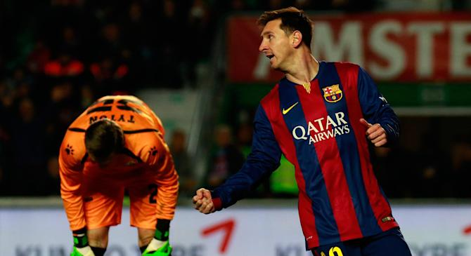Video: Elche vs Barcelona