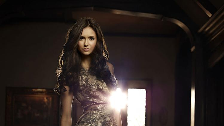 "Nina Dobrev stars as Elena in ""The Vampire Diaries."""