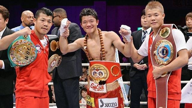 Boxing - Kameda brothers make history after Daiki title win
