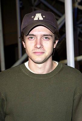 Premiere: Topher Grace at the Hollywood premiere for Screen Gems' Slackers - 1/29/2002