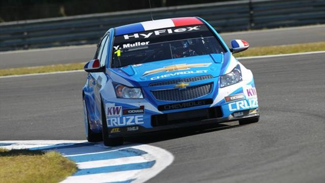 WTCC - Muller still on top in Curitiba