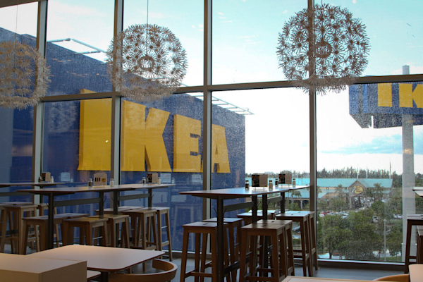 Now almost open your first look inside ikea miami for Restaurant ikea miami