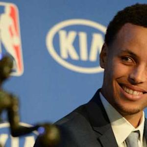 Stephen Curry: 2015 Regular Season MVP Press Conference