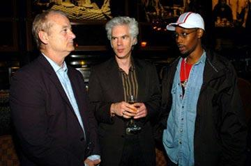 Bill Murray, Jim Jarmusch and The RZA Tribeca Film Festival, May 6, 2004