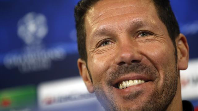 Liga - Simeone laughs at Madrid referee claims
