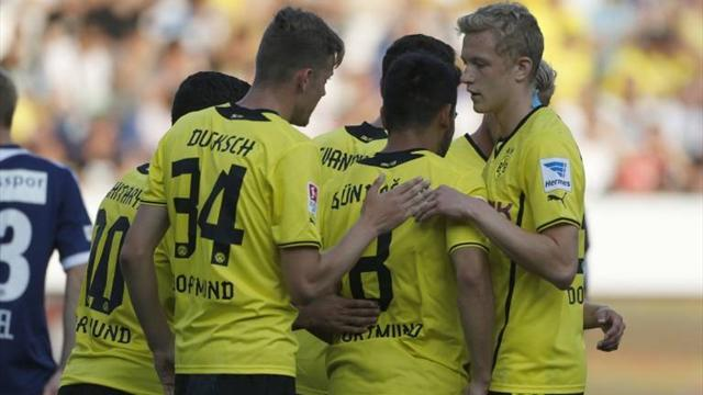 Bundesliga - European friendlies: Big names on target for Dortmund