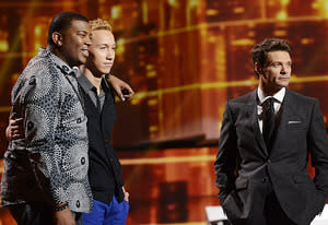 Curtis Finch, Jr., Devin Velez, Ryan Seacrest | Photo Credits: Michael Becker/ Fox