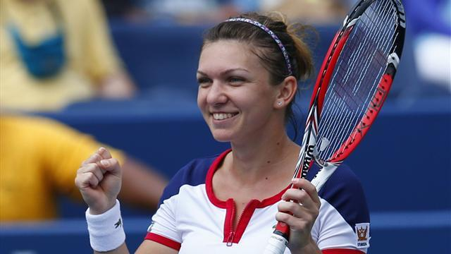 Tennis - Halep ousts Ivanovic to set up Stosur final
