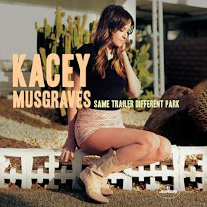 "This CD cover image released by Mercury Nashville shows ""Same Trailer Different Park,"" by Kacey Musgraves. (AP Photo/Mercury Nashville)"