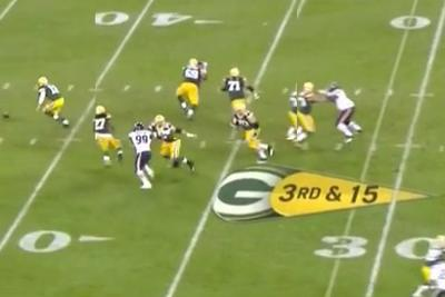 This snap was so bad, it made Aaron Rodgers yell 'F***!'