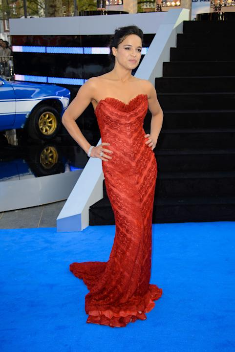 Michelle Rodriquez presenta a Londra Fast and Furious 6