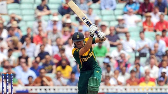 Cricket - South Africa captain Du Plessis misses World T20 opener