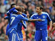 Chelsea captain Frank Lampard (R) during the FA Cup football final against Liverpool on May 5. Bayern Munich and Chelsea were gearing for their Champions League final showdown Saturday as the Bavarian capital buzzed with anticipation ahead of the biggest game in club football